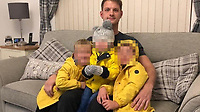 Pictured: Lee Sims<br /> Re: Inquest into the death of a 31-year-old teaching assistant Lee Sims who died in Bridgend, Wales, UK.<br /> His body was discovered on Sunday at a house in the Brackla area Bridgend.<br /> Sims was working for Ysgol Bryn Castell in Bryncethin which was closed following his death.