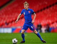 25th March 2021; Wembley Stadium, London, England;  James Ward-Prowse England controls the ball during the World Cup 2022 Qualification match between England and San Marino at Wembley Stadium in London, England.
