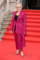 """Glenn Close<br /> arriving for the premiere of """"The Wife"""" at Somerset House, London<br /> <br /> ©Ash Knotek  D3418  09/08/2018"""