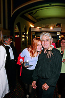 File Photo, Montreal (Qc) CANADA<br /> Chloee Sainte-Marie and Gilles Carle arrives at the closing gala of the 1999 World Film Festival.<br /> ChloÈe Sainte-Marie et Gilles Carle  au Festival des Films du Monde 1999<br /> Photo : (c) 1999. Pierre Rousel