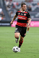 10th February 2021; Bankwest Stadium, Parramatta, New South Wales, Australia; A League Football, Western Sydney Wanderers versus Melbourne Victory; Simon Cox of Western Sydney Wanderers