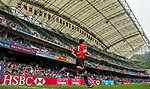 Japan vs Uruguay during the Cathay Pacific / HSBC Hong Kong Sevens at the Hong Kong Stadium on 28 March 2014 in Hong Kong, China. Photo by Victor Fraile / Power Sport Images
