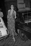 MARINA RIPA DI MEANA<br /> ROMA 1980