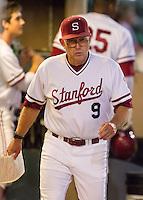 Stanford, CA - April 19, 2013 - Stanford University Baseball vs. Arizona at Sunken Diamond.  Stanford wins 4-3.