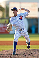 Brooks Raley (30) of the Daytona Cubs during a game vs. the Brevard County Manatees May 25 2010 at Jackie Robinson Ballpark in Daytona Beach, Florida. Daytona won the game against Brevard by the score of 5-3.  Photo By Scott Jontes/Four Seam Images