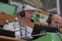 SPEEDSKATING: HAMAR: Vikingskipet, 29-02-2020, ISU World Speed Skating Championships, Sebastiaan Timmermans (NOS Radio), ©photo Martin de Jong