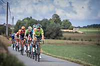 Lionel Taminaux (BEL/Wallonie-Bruxelles) leading the breakaway group. <br /> <br /> 99th Brussels Cycling Classic 2019<br /> One Day Race: Brussels > Brussels 189.4km<br /> <br /> ©kramon