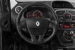 Steering wheel view of a 2013 - 2014 Renault Kangoo Express Maxi 5 Door Mini Mpv.