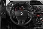 Steering wheel view of a 2013 - 2014 Renault Kangoo Express Maxi 5 Door Mini Mpv.