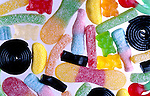 Bonbons acidules. *** Gummy candies.