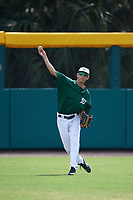 Dartmouth Big Green outfielder Matt Feinstein (23) during practice before a game against the South Florida Bulls on March 27, 2016 at USF Baseball Stadium in Tampa, Florida.  South Florida defeated Dartmouth 4-0.  (Mike Janes/Four Seam Images)