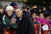 Seattle, WA - Saturday March 24, 2018: Megan Oyster during a regular season National Women's Soccer League (NWSL) match between the Seattle Reign FC and the Washington Spirit at the UW Medicine Pitch at Memorial Stadium. The Seattle Reign FC won 2-1.
