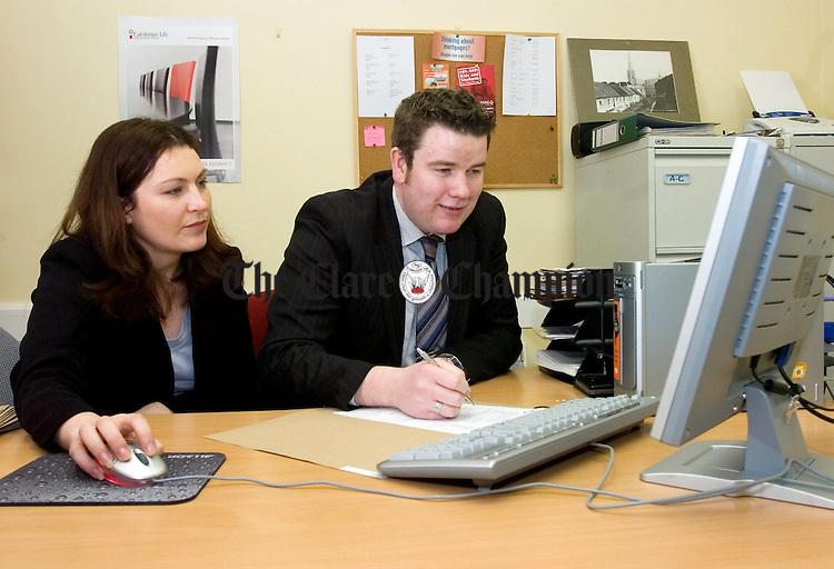 Anthony Curran and Olivia Cosgrove.Pic Arthur Ellis.