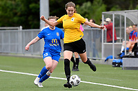 Hope Gilchrist of Capital during the Handa Women's Premiership - Capital Football v Southern United at Petone Memorial Park, Wellington on Saturday 7 November 2020.<br /> Copyright photo: Masanori Udagawa /  www.photosport.nz