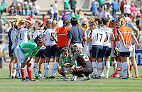 US Women's national team during the USA's 3-1 win vs Mexico in Group A of the 2008 CONCACAF Olympic Women's Qualifying Tournament  in Ciudad Juarez, Mexico, April 6, 2008.