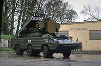- Polish army, SA-8 Gecko tactical surface-to-air missile launcher, 12th Infantry Division of Stettin<br /> <br /> - Forze Armate Polacche, lanciamissili tattico terra-aria Gecko SA-8, 12ª Divisione di fanteria di Stettino