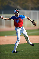 Garrison Nash during the Under Armour All-America Tournament powered by Baseball Factory on January 18, 2020 at Sloan Park in Mesa, Arizona.  (Zachary Lucy/Four Seam Images)