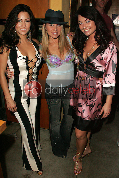"""Yvette Lopez with E.G. Daily and Lindsey Labrum<br />at a birthday party for E.G. Daily, Lindsey Labrum and Yvette Lopez, benefitting """"Last Chance for Animals"""". Private Location, Los Angeles, CA 09-02-06<br />Dave Edwards/DailyCeleb.com 818-249-4998"""