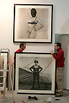 MADRID 12 DE FEBRERO DE 2008. VISTA GENERAL DE LOS PREPARATIVOS DE ARCO 2008. (FOTO/ALVARO HERNANDEZ)