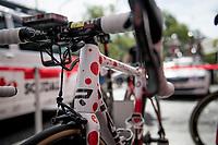 polka dot bike for Tim Wellens (BEL/Lotto-Soudal) at the start of stage 4<br /> <br /> Stage 4: Reims to Nancy(215km)<br /> 106th Tour de France 2019 (2.UWT)<br /> <br /> ©kramon