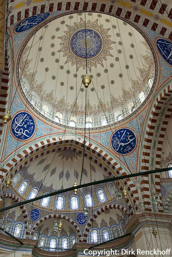 Türkei, Fatih Camii (Moschee) in Istanbul, erbaut 15. Jh