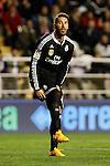 Sergio Ramos of Real Madrid during La Liga match between Rayo Vallecano and Real Madrid at Vallecas Stadium in Madrid, Spain. April 08, 2015. (ALTERPHOTOS/Caro Marin)