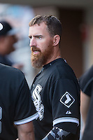 Adam LaRoche (25) of the Chicago White Sox during the game against the Charlotte Knights at BB&T Ballpark on April 3, 2015 in Charlotte, North Carolina.  The Knights defeated the White Sox 10-2.  (Brian Westerholt/Four Seam Images)