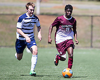 The College of Charleston Cougars played the  Georgia Southern Eagles in The Manchester Cup on April 5, 2014.  The Cougars won 2-0.  Xavier Raipaul (19), Aaron Reifschneider (6)