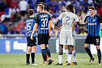 FC Internazionale squad celebrating after winning Chelsea during the International Champions Cup 2017 match between FC Internazionale and Chelsea FC on July 29, 2017 in Singapore. Photo by Marcio Rodrigo Machado / Power Sport Images