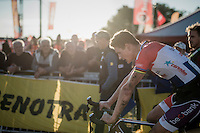 Mathieu Van der Poel (NED/Beobank-Corendon) needed to dig extremely deep to win the Superprestige Zonhoven 2016