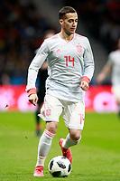 Spain's Lucas Vazquez during international friendly match. March 27,2018.(ALTERPHOTOS/Acero) /NortePhoto.com NORTEPHOTOMEXICO