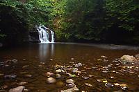 Waterfall and the Killoch Water, Killoch Glen, Gateside, Barrhead, East Renfrewshire
