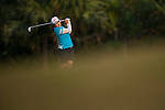 TAOYUAN, TAIWAN - OCTOBER 26:  Inbee Park of South Korea plays her second shot on the 17th hole during the day two of the Sunrise LPGA Taiwan Championship at the Sunrise Golf Course on October 26, 2012 in Taoyuan, Taiwan. Photo by Victor Fraile / The Power of Sport Images