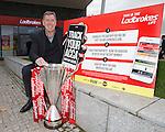 Ladbrokes SPFL ambassador Pat Bonner