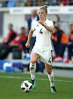 Leonie Maier      <br /> /   World Championships Qualifiers women women /  2017/2018 / 07.04.2018 / DFB National Team / GER Germany vs. Czech Republic CZE 180407046 / <br />  *** Local Caption *** © pixathlon<br /> Contact: +49-40-22 63 02 60 , info@pixathlon.de