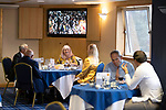 St Johnstone v Motherwell…08.08.21  McDiarmid Park<br />Hospitality in the Premier Suite at McDiarmid Park ahead of today's game against Motherwell.<br />Picture by Graeme Hart.<br />Copyright Perthshire Picture Agency<br />Tel: 01738 623350  Mobile: 07990 594431