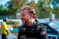 Oct 14, 2019; Concord, NC, USA; NHRA top alcohol funny car driver Sean Bellemeur during the Carolina Nationals at zMax Dragway. Mandatory Credit: Mark J. Rebilas-USA TODAY Sports