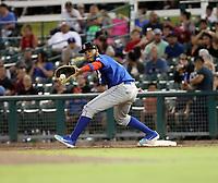 Cristian Santana - 2018 Rancho Cucamonga Quakes (Bill Mitchell)