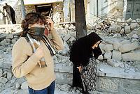 - terremoto in Irpinia (novembre 19880)<br /> <br /> - earthquake in Irpinia (November 1980)