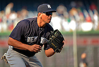 15 June 2012: New York Yankees third baseman Alex Rodriguez warms up prior to a game against the Washington Nationals at Nationals Park in Washington, DC. The Yankees defeated the Nationals 7-2 in the first game of their 3-game series. Mandatory Credit: Ed Wolfstein Photo