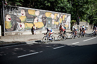 street art<br /> <br /> 55th Grote Prijs Jef Scherens - Rondom Leuven 2021 (BEL)<br /> <br /> One day race from Leuven to Leuven (190km)<br /> ridden over the final circuit of the 2021 World Championships road races <br /> <br /> ©kramon