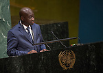 GA 72<br /> High-level meeting of the General Assembly on the appraisal of the United Nations Global Plan of Action to Combat Trafficking in Persons<br /> 25th plenary meeting<br /> <br /> <br /> Gini