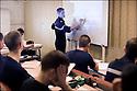 2009 / Officier élève.<br /> Le cours.