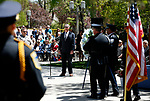 Shawn Mahan sings during the 22nd annual Nevada Law Enforcement Officers Memorial ceremony in Carson City, Nev., on Thursday, May 2, 2019. <br /> Photo by Cathleen Allison/Nevada Momentum