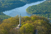 New York Peace Memorial, Lookout Mountain over Tennessee River