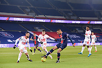 9th January 2021, Paris, France; French League 1 football, St. Germain versus Stade Brest;  KYLIAN MBAPPE PSG shooting at goal