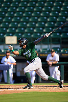 Daytona Tortugas Reyny Reyes (29) bats during a game against the Bradenton Marauders on June 9, 2021 at LECOM Park in Bradenton, Florida.  (Mike Janes/Four Seam Images)
