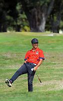 James Tauariki. Day one of the Jennian Homes Charles Tour / Brian Green Property Group New Zealand Super 6's at Manawatu Golf Club in Palmerston North, New Zealand on Thursday, 5 March 2020. Photo: Dave Lintott / lintottphoto.co.nz