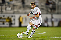 Orlando, FL - Saturday Jan. 21, 2017: São Paulo midfielder Buffarini (18) during the second half of the Florida Cup Championship match between São Paulo and Corinthians at Bright House Networks Stadium. The game ended 0-0 in regulation with São Paulo defeating Corinthians 4-3 on penalty kicks