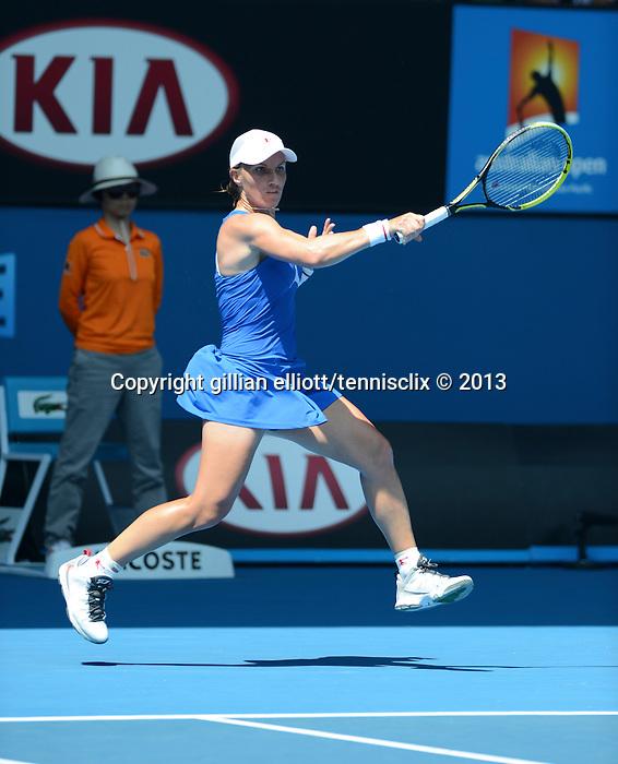 Svetlana KUZNETSOVA (RUS) wins at Australian Open in Melbourne Australia on 20th January 2013